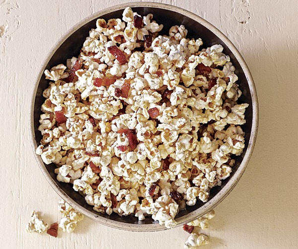 popcorn cooked in pork fat