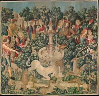 202px The Hunt of the Unicorn Tapestry 1
