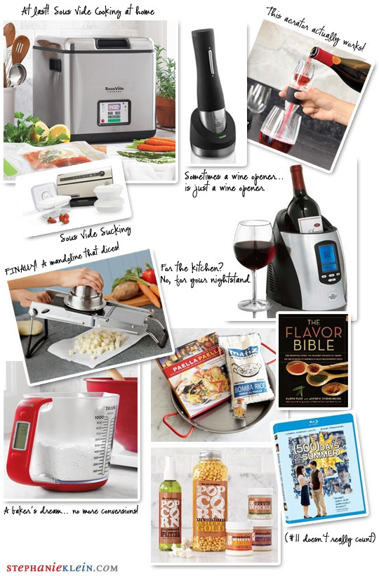 """Featured image for """"top ten gifts for the foodie"""""""