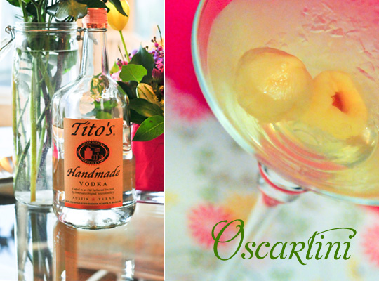 Oscartini Cocktail