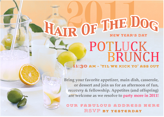 hair of the dog potluck brunch: what would you bring? | Stephanie Klein Greek Tragedy