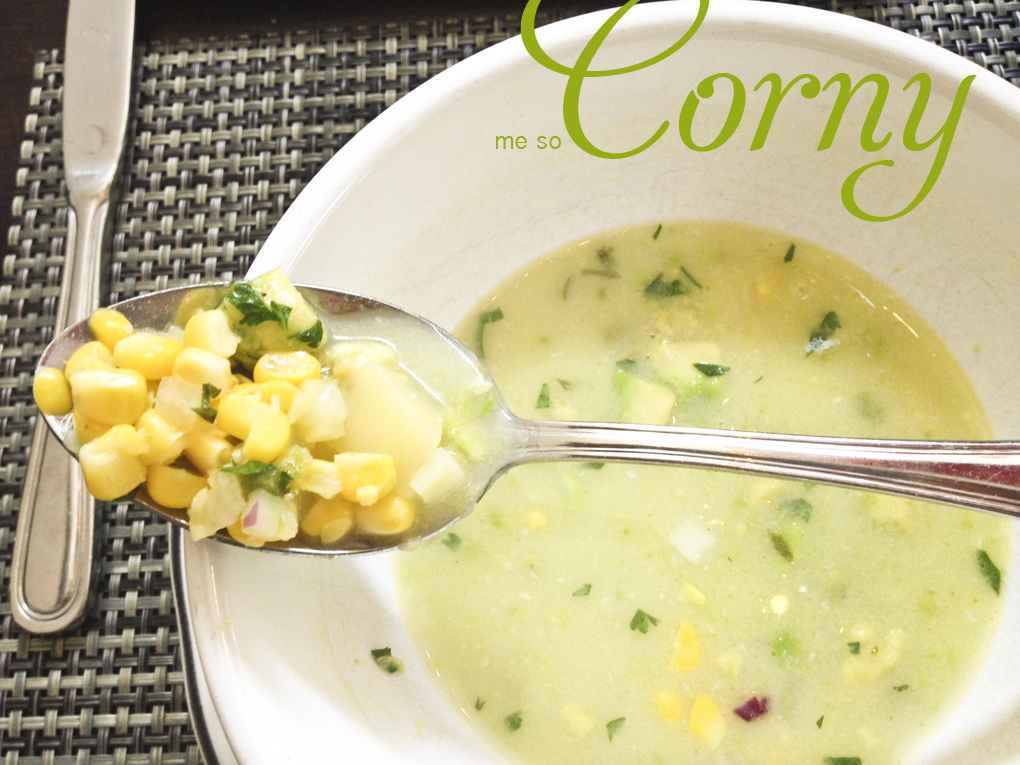 Coconut Corn Soup