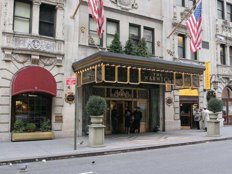 Warwick Hotel, New York, NY