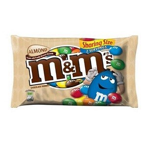 Almond M&M's Sharing Size Package