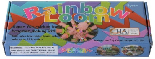Gift Rainbow Loom with a card for an art class or tickets to an art museum
