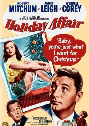 Non-traditional holiday movies - Holiday Affair