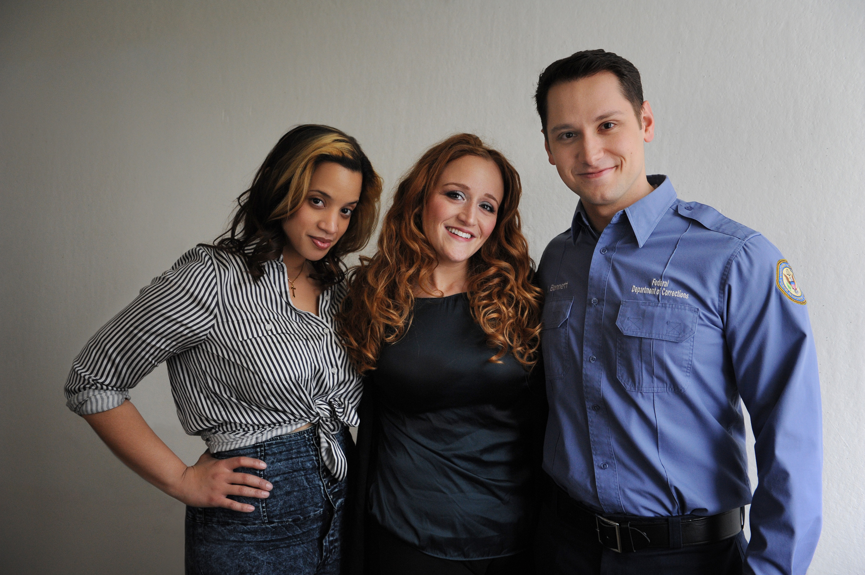 Season 2 Orange Is The New Black, Dascha Polanco, Stephanie Klein, Matt McGorry