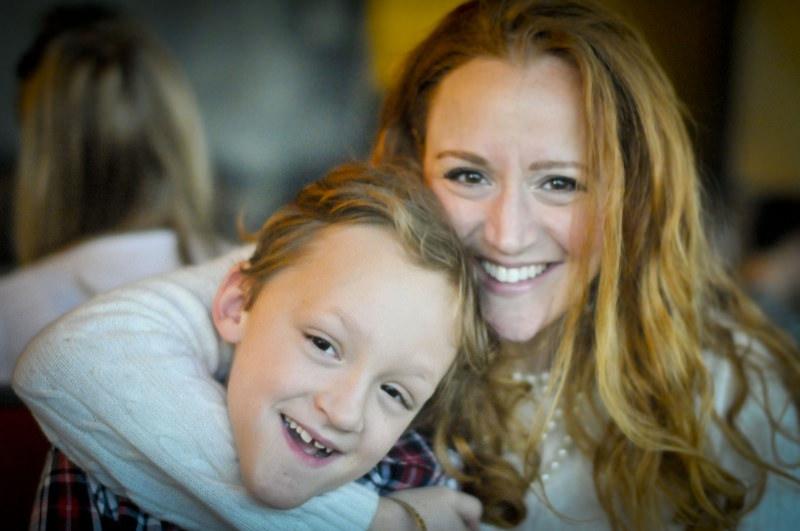 Stephanie Klein and Son