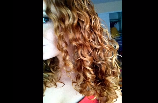 Naturally Curly Wet Curl Hair Tutorial