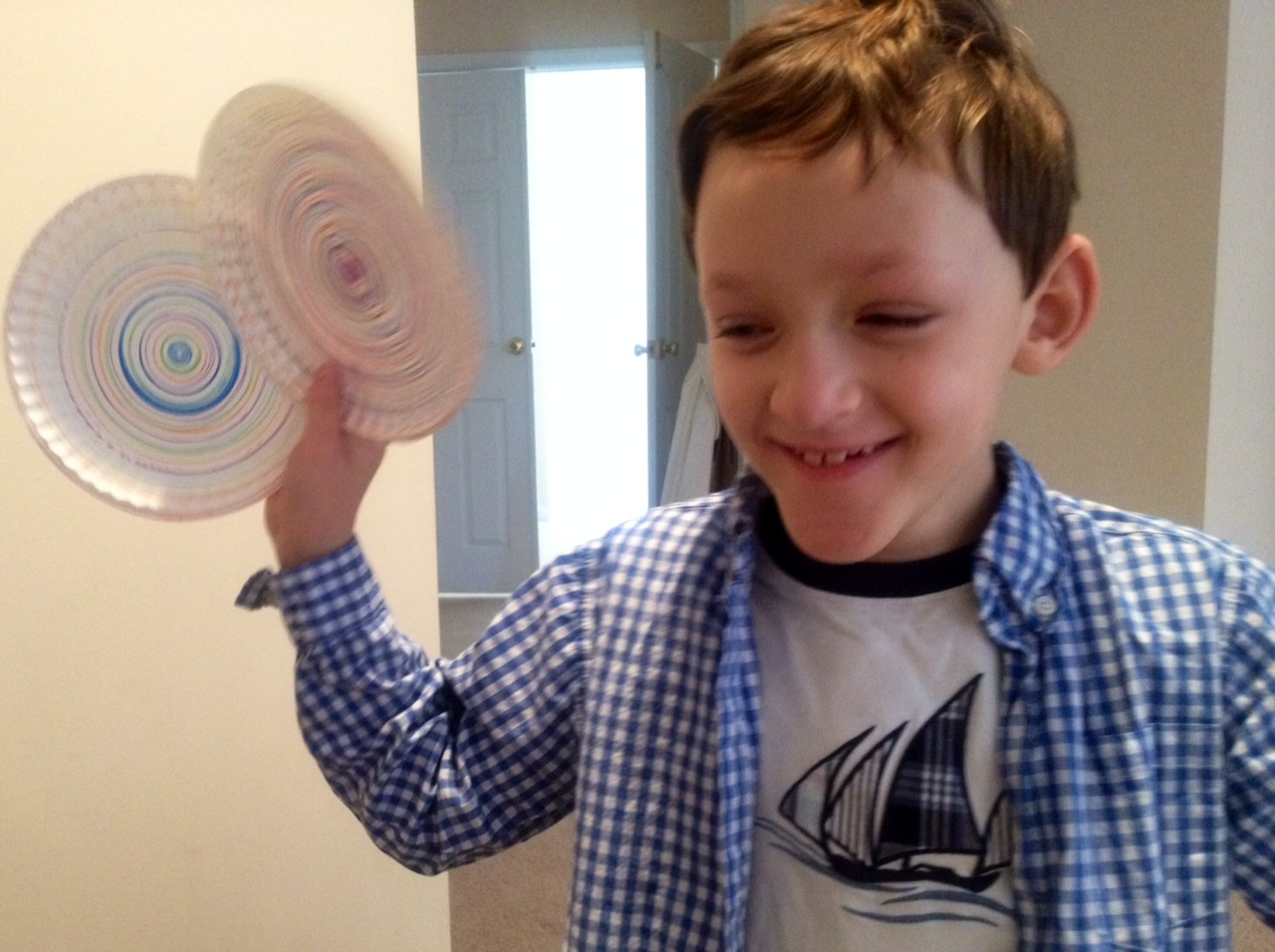 Motorized Lego Spin Art with Magic Markers not paint!