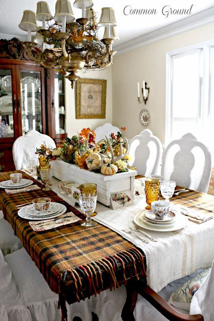 Stephanie Klein's Woodland Thanksgiving