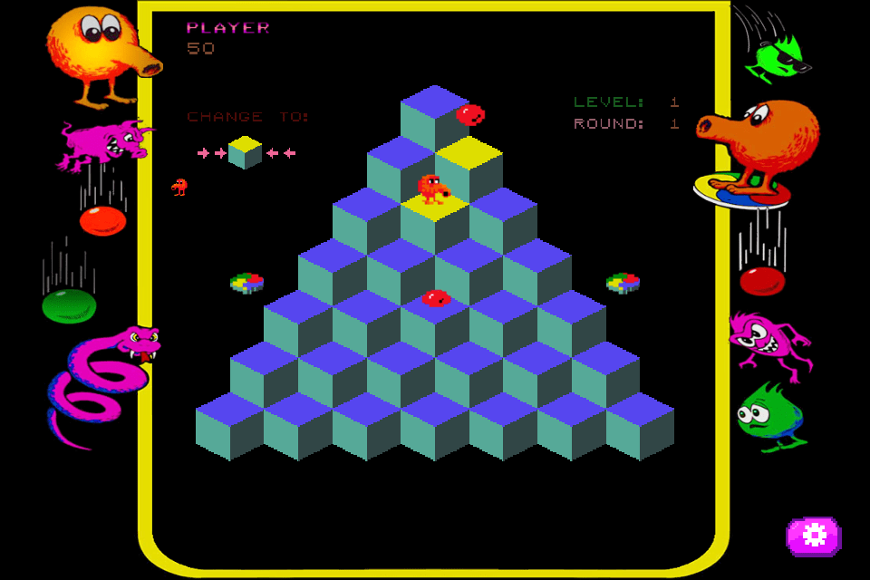 Q*bert Video Game