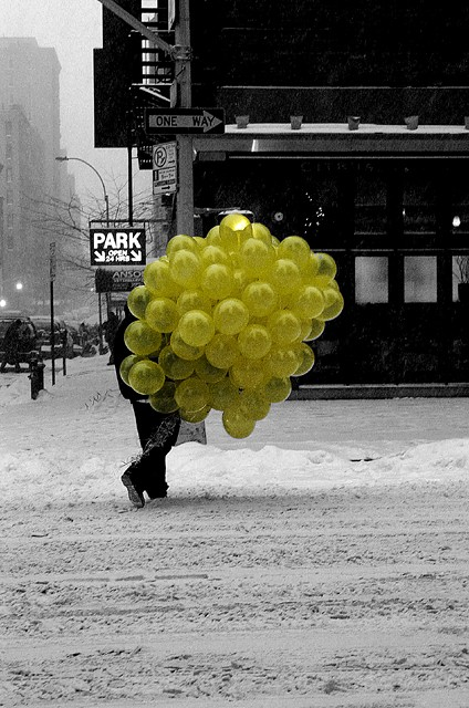 Balloons in NYC