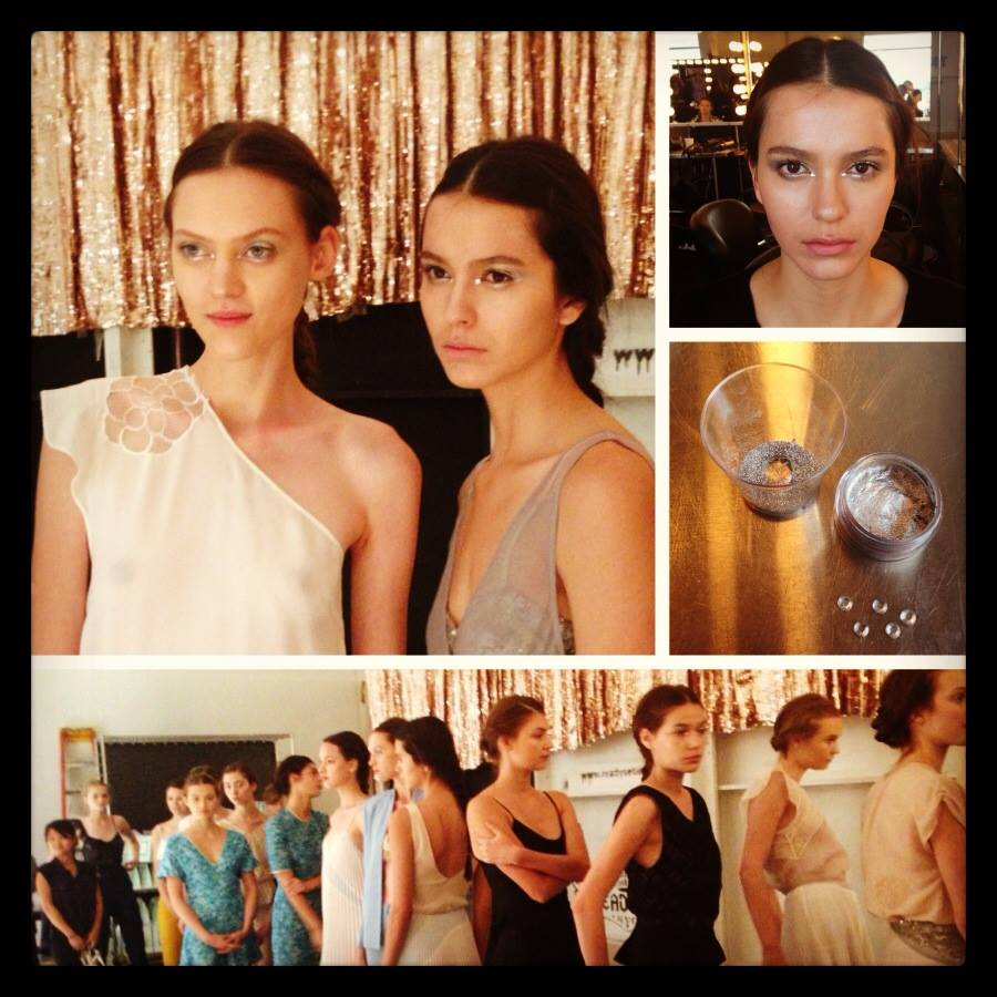 """Featured image for """"backstage beauty products + looks, NY Fashion Week"""""""