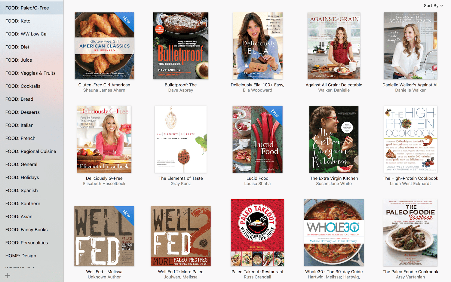 gluten-free and paleo cookbooks