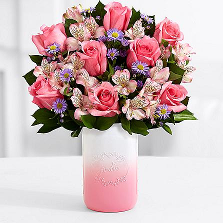 ProFlowers Mother's Day Bouquet Mason Jar