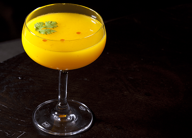 NYC Cocktails: Mango Chili Martini from TAO NYC
