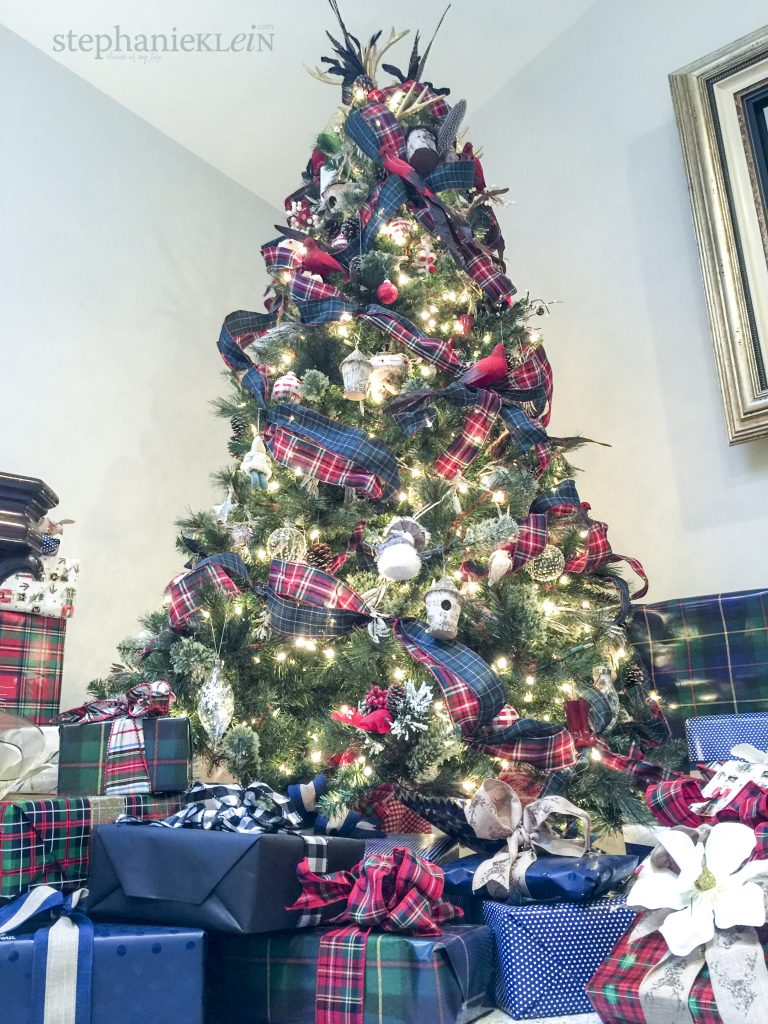 Tartan Plaid Christmas Tree