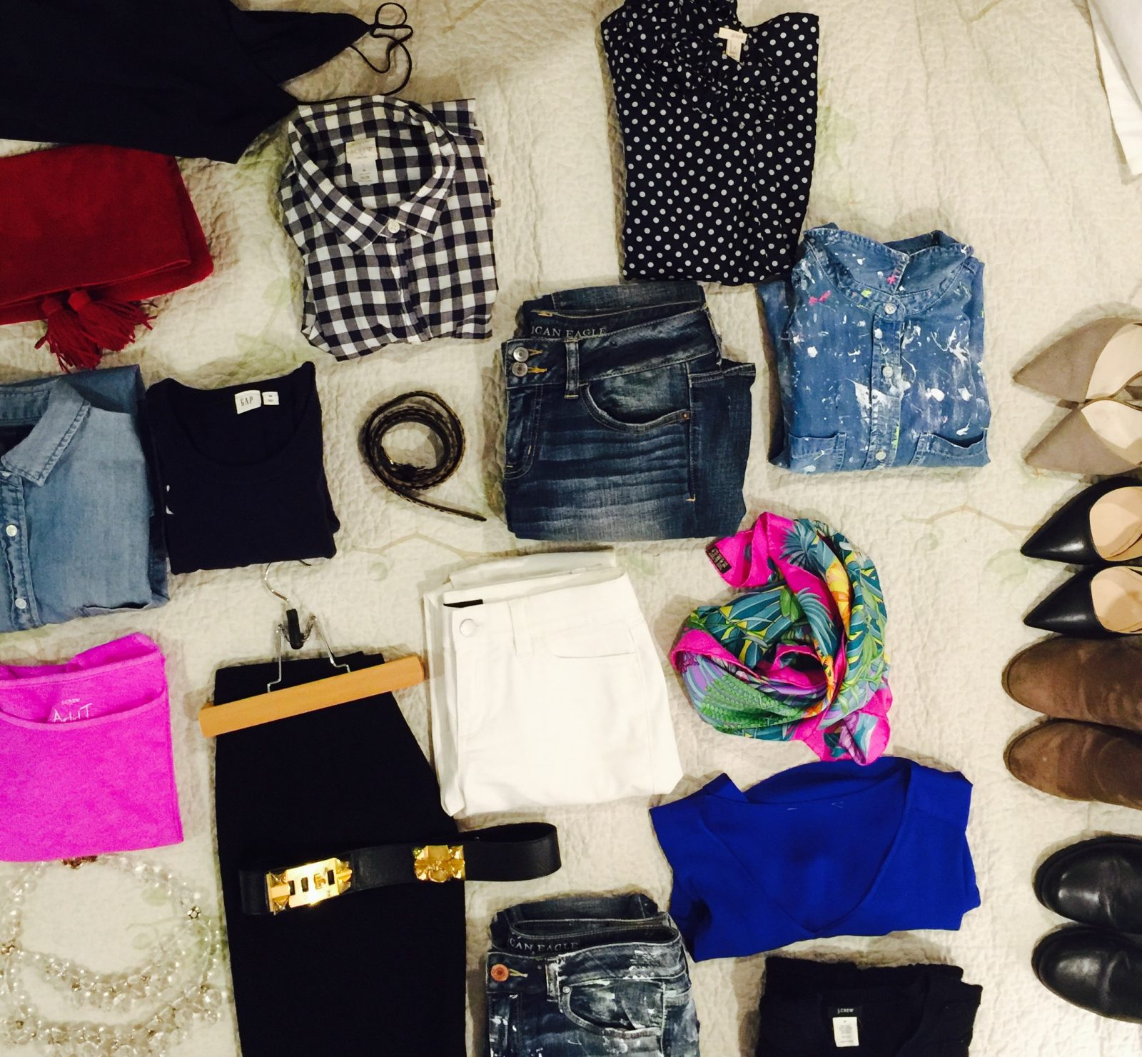 """Featured image for """"Clothing Capsule: March – April"""""""