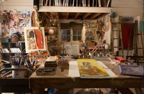 Art Studio from Grace and Frankie Netflix