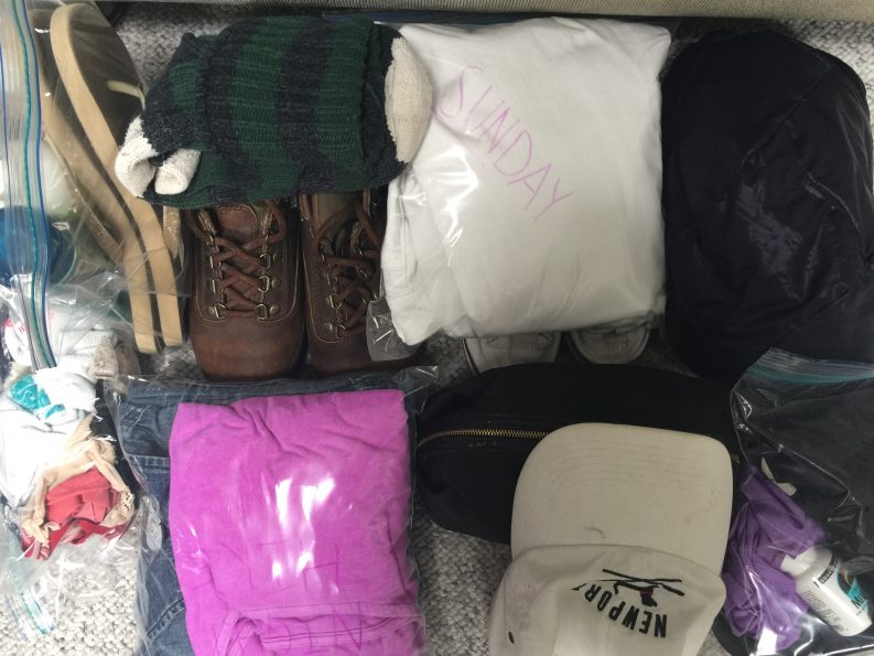 Packing for Camping