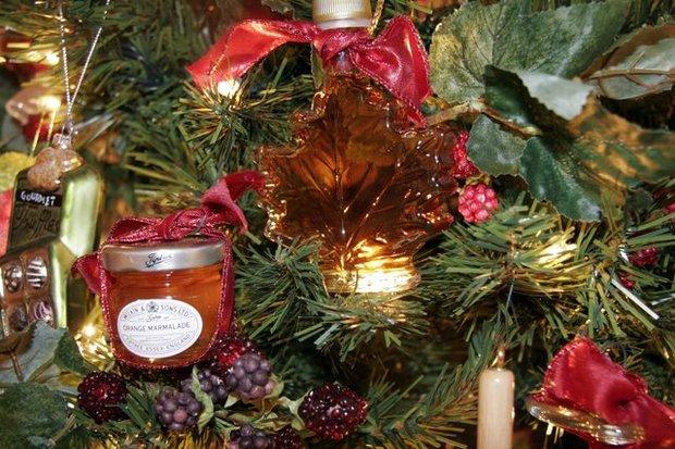 Foodie Christmas Theme Tree